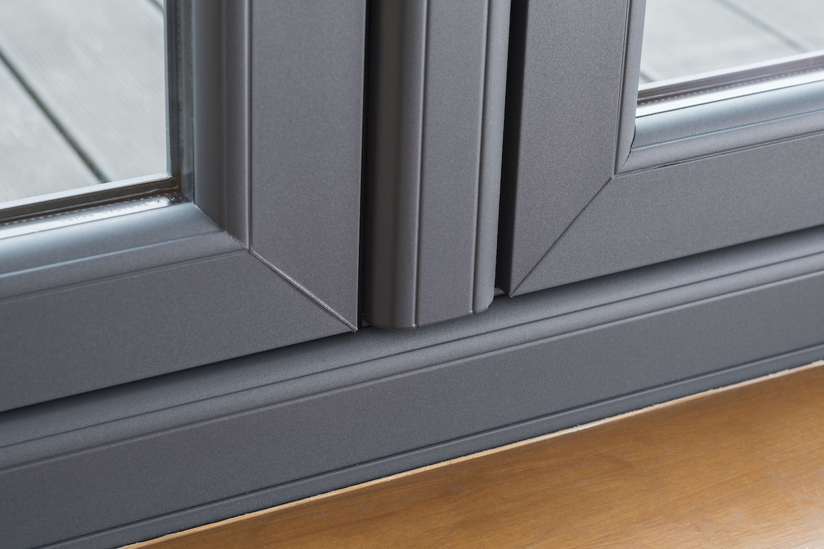 grey upvc window design